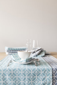Linen & More Crossed Circle